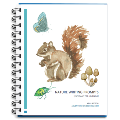 adv Nature Writing Prompts graphic